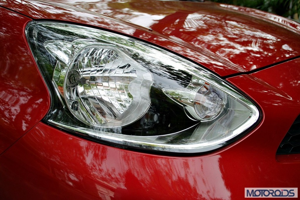 New Nissan Micra 2013 facelift India review (160)