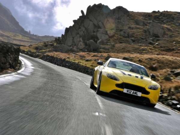 New Aston Martin V12 Vantage S unveiled