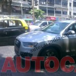 Upcoming Audi Q3 2.0 FWD base variant spotted in India