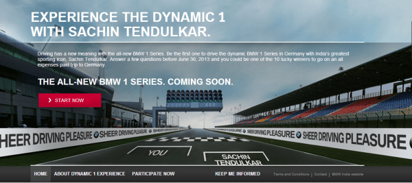 BMW 1 Series India launch to happen soon. Check out the contest & the website