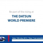 Datsun World Premiere to be held on July 15
