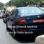 New 2013 Skoda Octavia spotted again. To be unveiled in India on Aug 9