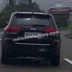 2014 Jeep Grand Cherokee spotted testing Pune-Mumbai expressway
