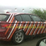 BMW 1 Series India launch in September. Spotted testing