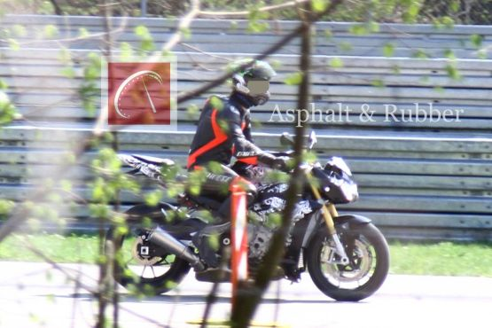 Upcoming BMW S1000RR Naked variant spotted testing
