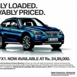 BMW X1 now on sale for a price of INR 24.99 lakhs