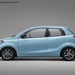 This is how the Datsun Go 3-dr could look like