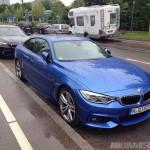 An Estoril Blue F32 BMW 4 Series M Sport spotted in Munich