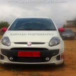 Fiat Punto Abarth Evo spotted (again) in Coimbatore