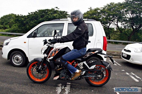 ktm 390 duke first review: mayhem, minified! | page 5 of 6 | motoroids