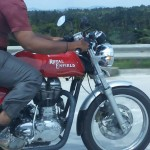 2014 Royal Enfield Continental GT535 Café Racer spotted again