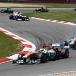 Sahara Force India: 2013 Formula 1 Santander German Grand Prix Race Report