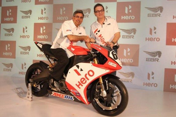 Hero MotoCorp buys 49.2 percent stake in Eric Buell Racing