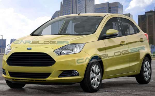 Yet another set of renderings of 2015 Ford Ka/Figo