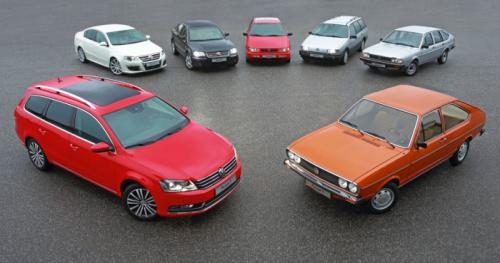 Volkswagen Passat celebrates its 40th anniversary