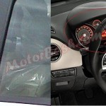 Fiat Linea Facelift spied in India. Interiors Spotted