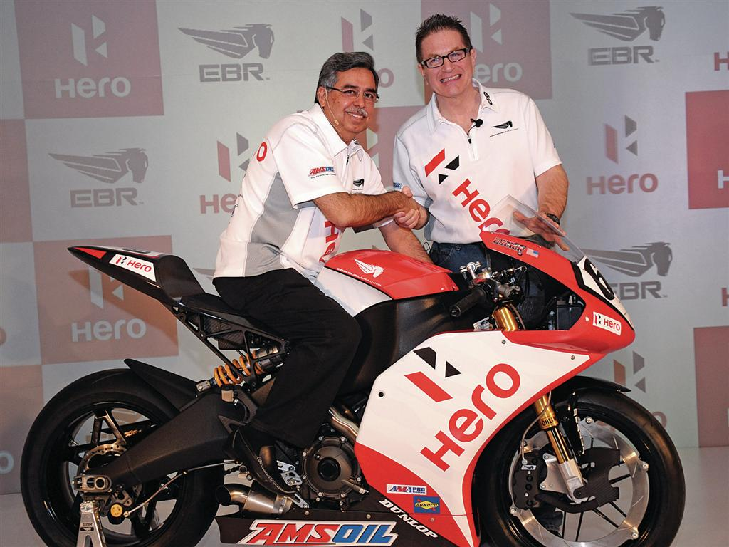 2014 Hero Motocorp motorcycles