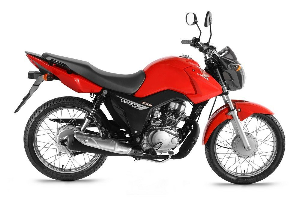 Honda CG125 and Honda CG150 motorcycles launched in Brazil | Motoroids