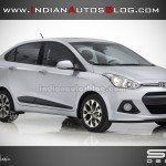 Is this how the 2014 Hyundai i10 sedan would look like?