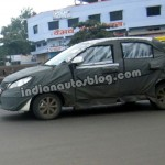 Upcoming 2014 Tata Vista spotted again