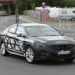 Next gen 2015 Hyundai Sonata spotted again. This time at Nurburgring