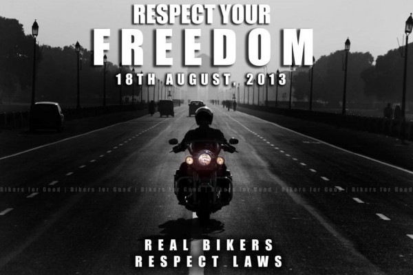"Bikers for Good Motorcycle Club ""Respect Your Freedom"" ride happening today"