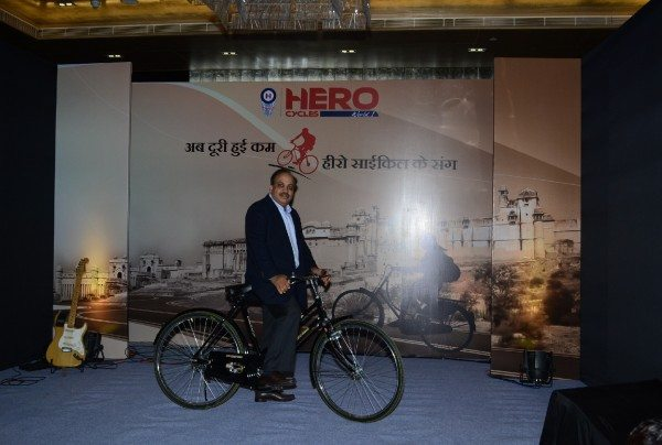 Hero Cycles Ltd launches special bicycles for the girl child in Rajasthan
