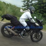 More pics of the upcoming Hero Karizma facelift