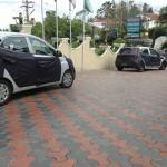 Hyundai Eon facelift spotted testing in Tamil Nadu
