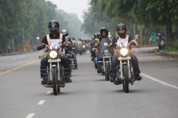 Bikers for Good organizes 'Respect the Freedom' ride to support and salute Delhi Police