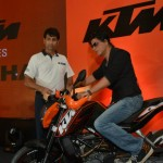 Shahrukh Khan and KTM India come together in an event in Mumbai