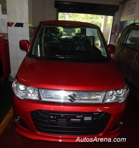 Upcoming Maruti Wagon R Stingray completely revealed in these spy pics