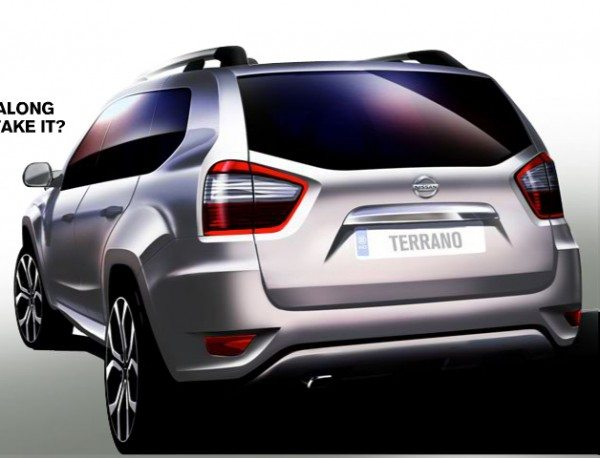 new car release in indiaOfficial Nissan Terrano to be unveiled in India on August 20
