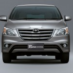 Toyota Innova facelift 2013 could be launched in India next month