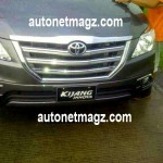 Toyota Innova Facelift to be pricier than the outgoing model in Indonesia