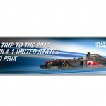 Mobil1 offering a trip to the US F1 GP for the winners of its online game