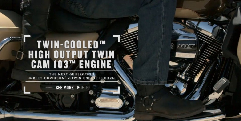 harley davidson water cooled engine