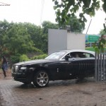 New 2014 Rolls Royce Wraith spotted in India. Launch this month?