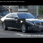 Upcoming 2014 Mercedes S65 AMG spotted undisguised. All the Details