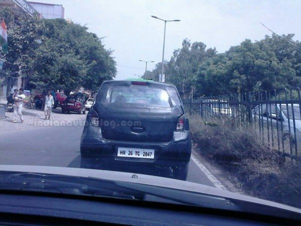 More Pics of Next gen 2014 Suzuki Alto (All New Maruti AStar) testing in India