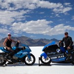 BMW S1000RR claims five land speed records at Bonneville Salt Flats