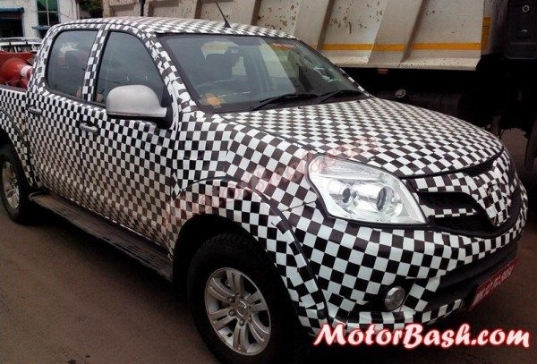 Foton Tunland Interiors Revealed in new Spy Shots