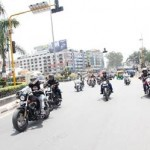 Harley-Davidson owners roar through Indore at Founders Ride
