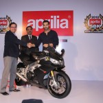 Italian auto giant Piaggio honours Bollywood star John Abraham with the legendry Aprilia RSV4