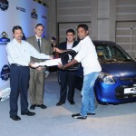 Maruti Suzuki Autocar Young Driver 2013 held in Delhi. Winner Announced