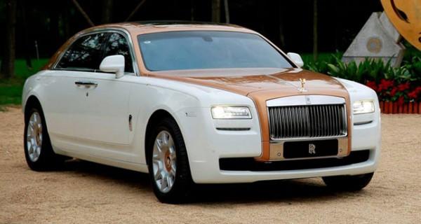 One-off Rolls Royce Ghost Chengdu Golden Sunbird Edition Revealed