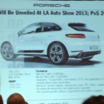 Upcoming Porsche Macan to get two V6 engine options. LA Auto Show 2013 Reveal