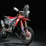 HRC unveils the 2014 Honda Dakar Rally Motorcycle