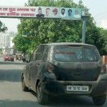 Second sighting of next generation 2014 Suzuki Alto (New Maruti AStar) in India
