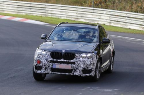 Upcoming 2014 BMW X4 Spied on Nurburgring